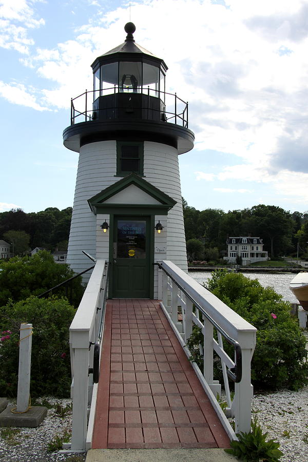 Mystic Seaport Lighthouse Photograph  - Mystic Seaport Lighthouse Fine Art Print