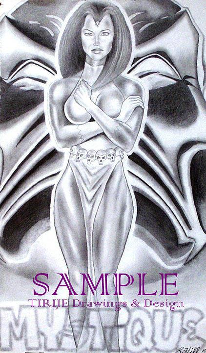 Mystique Drawing