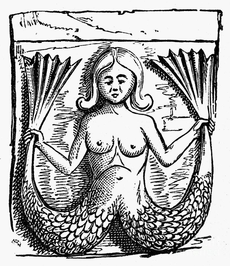 Mythology: Mermaid Photograph