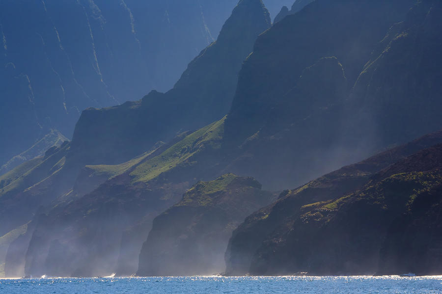 Na Pali Morning Mist Photograph