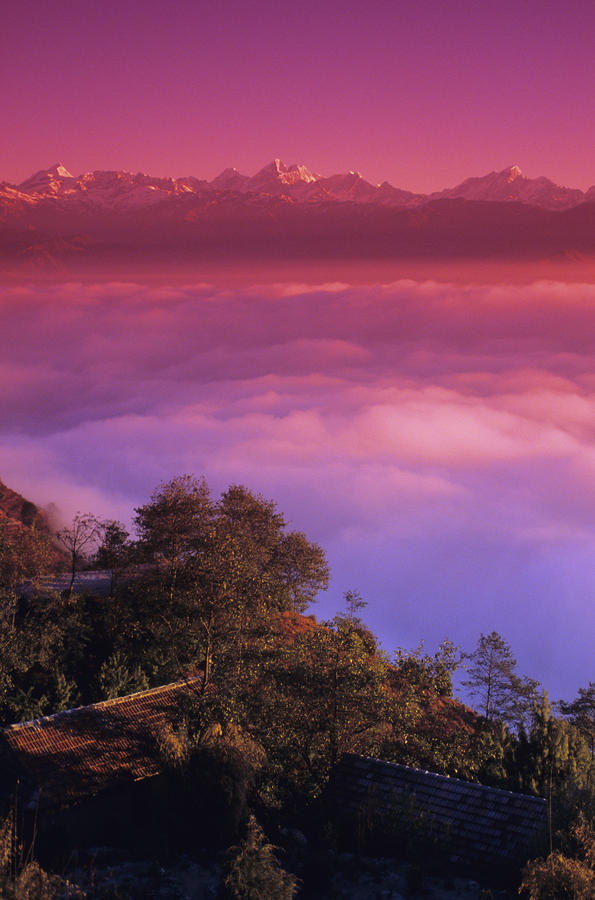 Nagarkot View Photograph  - Nagarkot View Fine Art Print