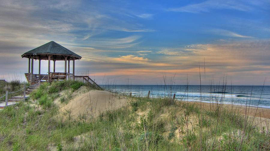 Nags Head Gazebo Photograph  - Nags Head Gazebo Fine Art Print
