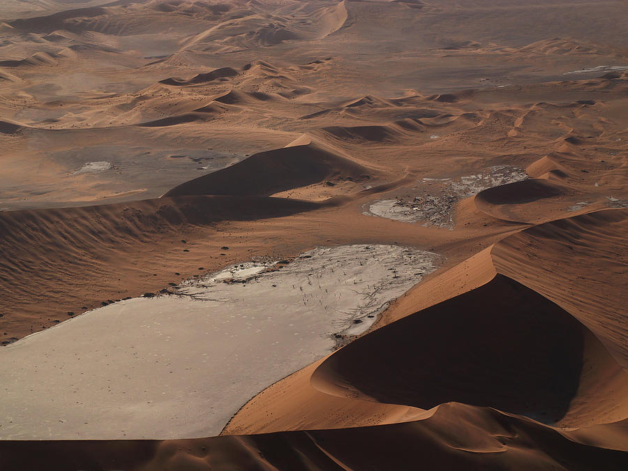 Namibia Photograph - Namibia Aerial IIi by Nina Papiorek