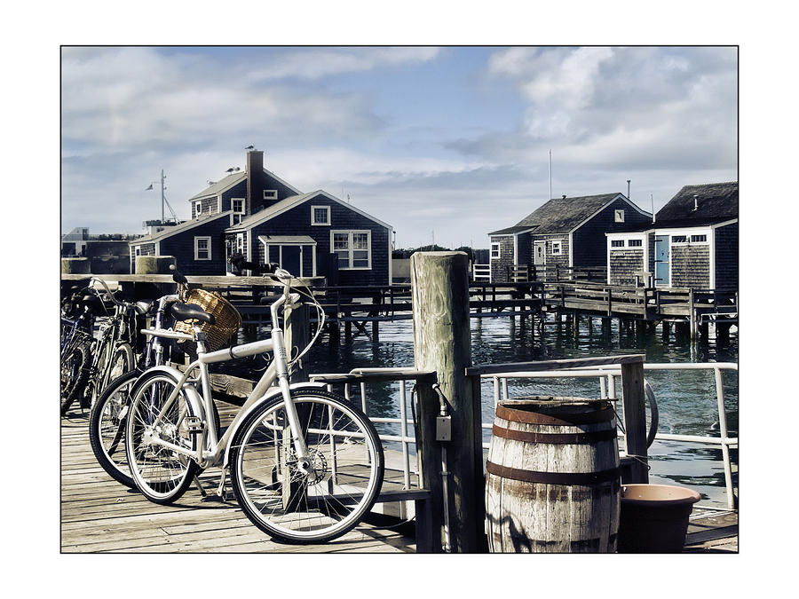 Nantucket Bikes 1 Photograph  - Nantucket Bikes 1 Fine Art Print