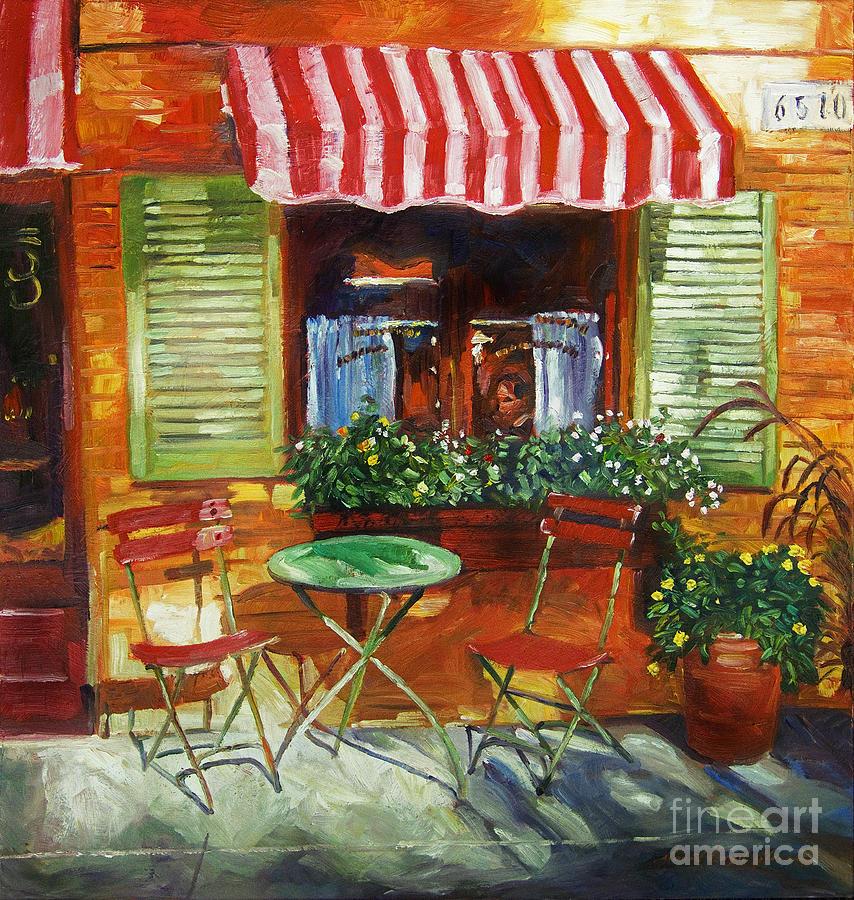 Napa Bistro Painting