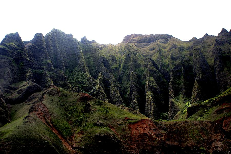 Napali Coast Hawai Photograph