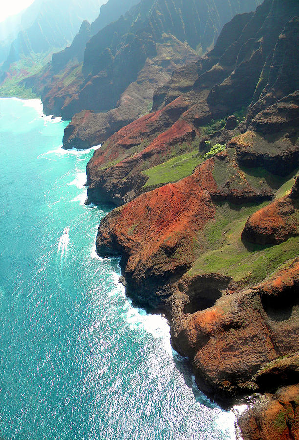 Napali Coast Of Kauai Photograph