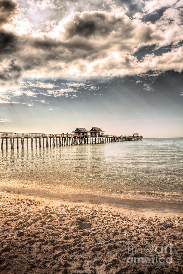 Naples Pier Photograph