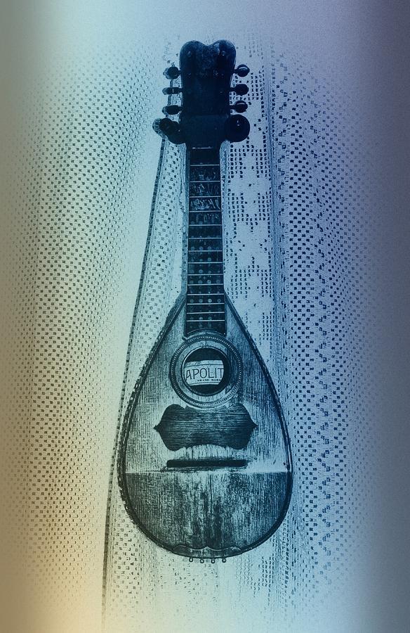 Napolitan Mandolin Photograph