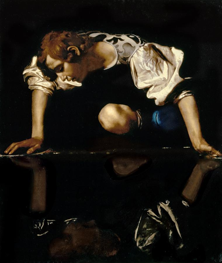 Narcissus Painting  - Narcissus Fine Art Print