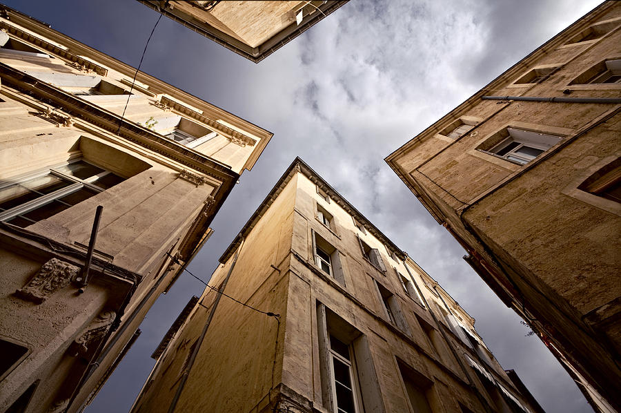 Narrow Streets Of Montpellier Photograph