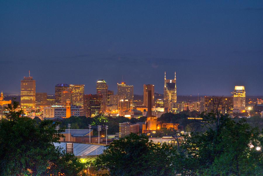 Nashville By Night 2 Photograph