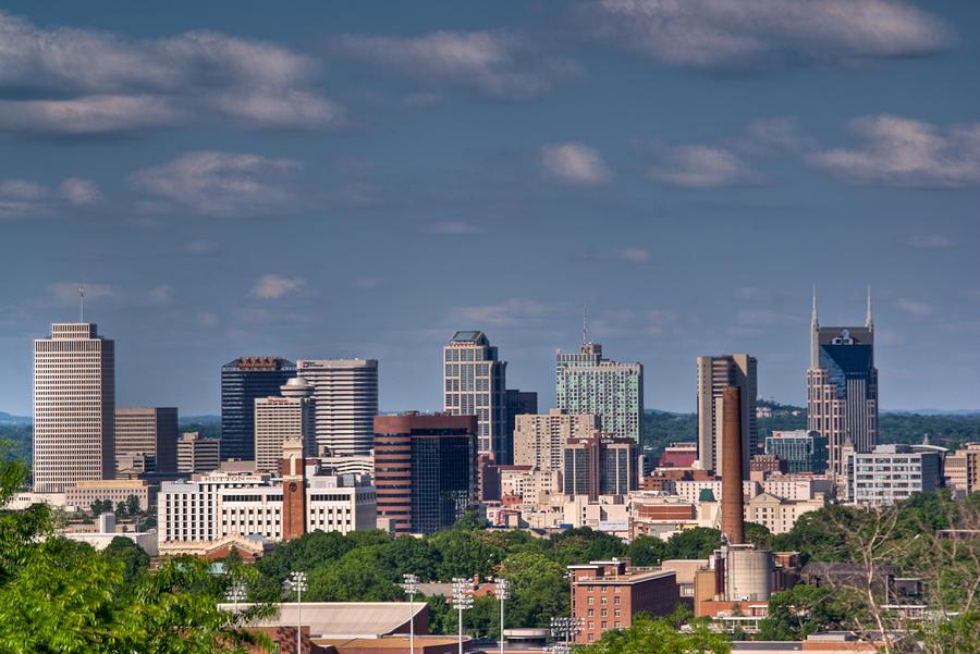 Nashville Skyline 1 Photograph