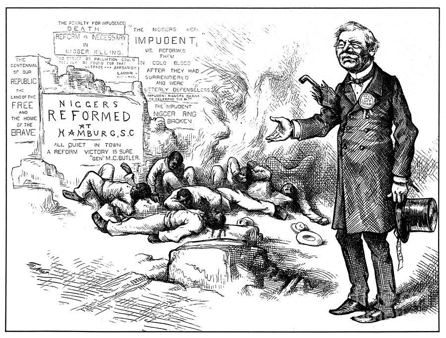 Nast: Tilden Cartoon, 1876 Photograph