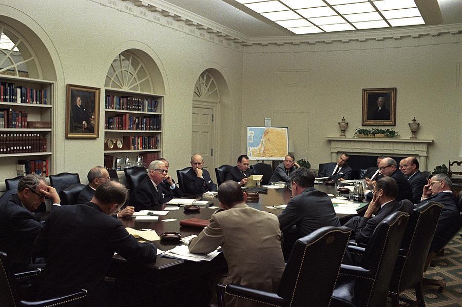 National Security Council Meeting Photograph