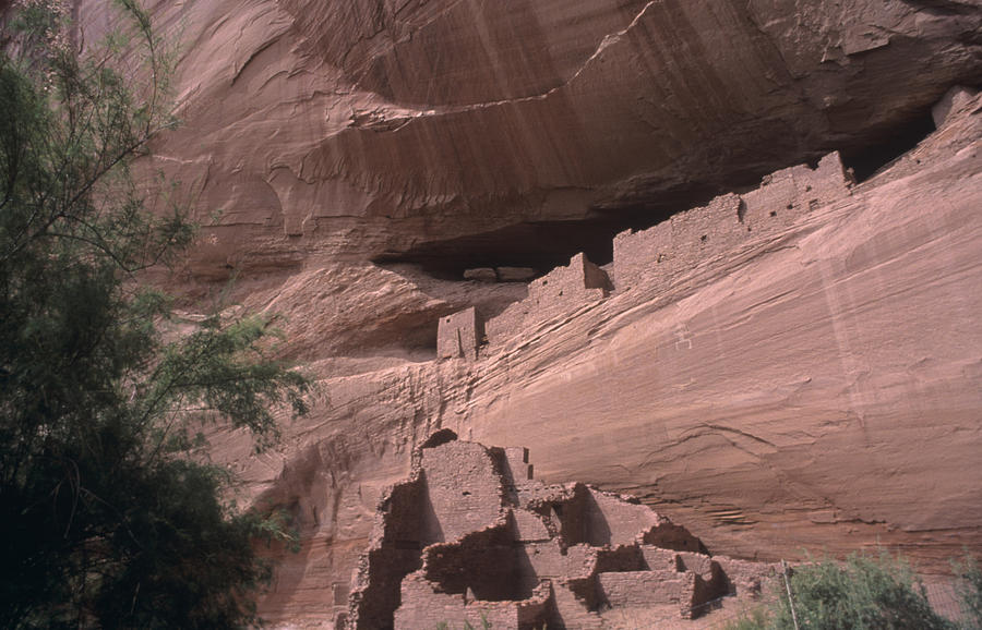Native American Ruins Photograph