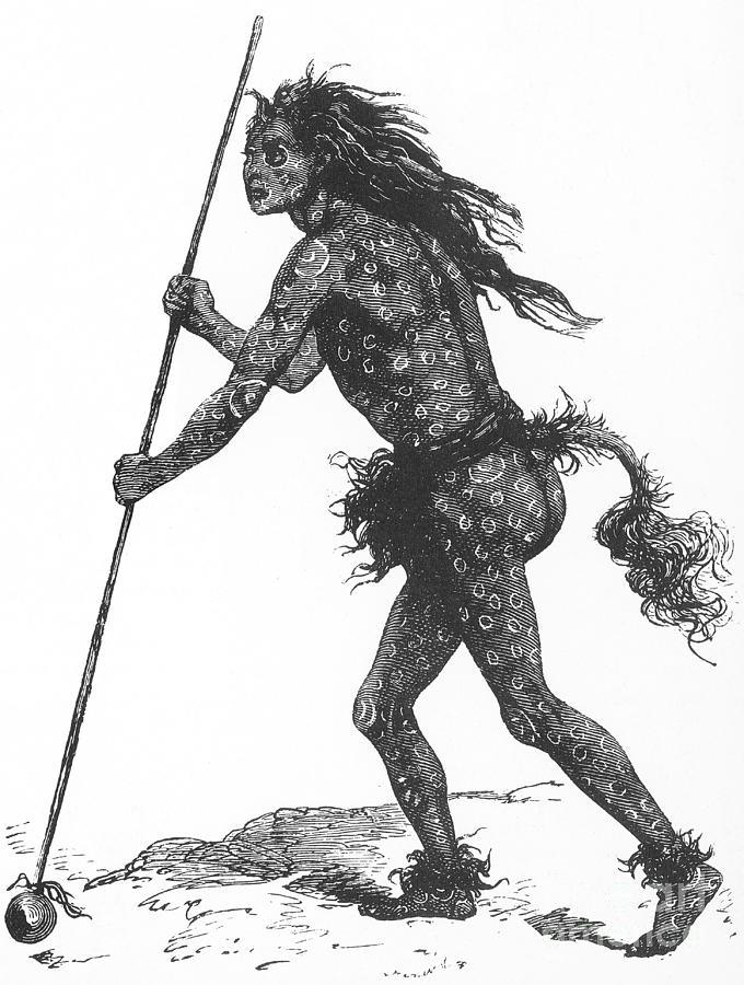 Native American Shaman Photograph