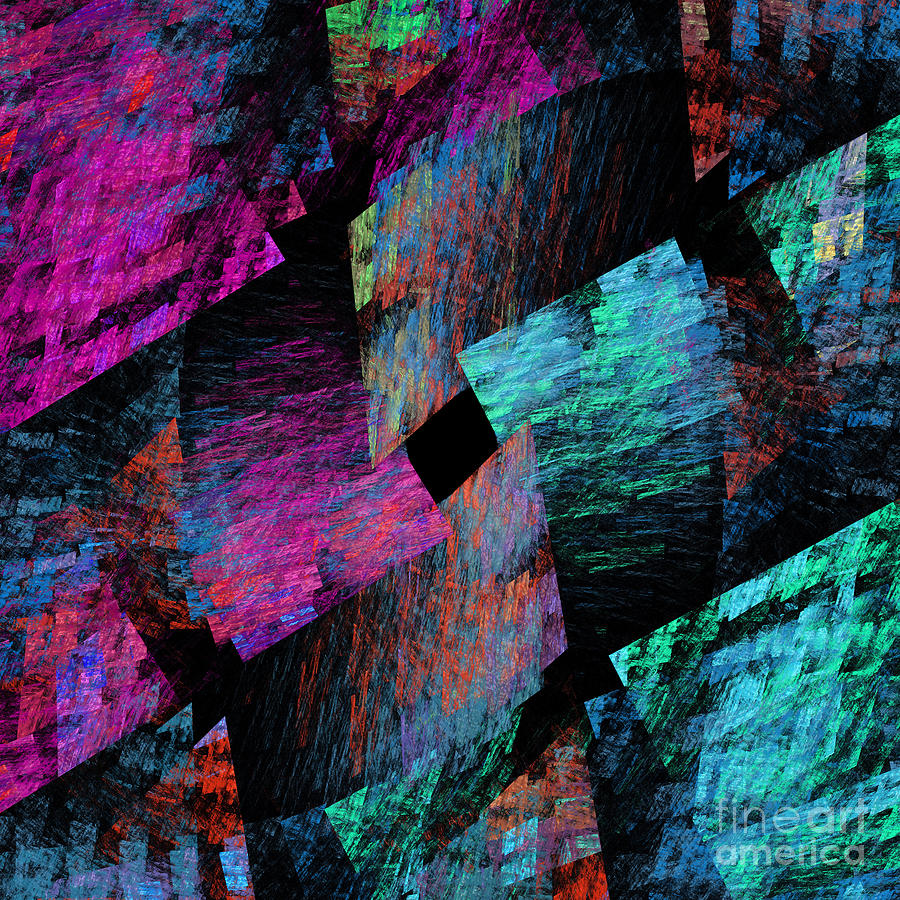 Native Quilt Abstract Digital Art by Andee Design