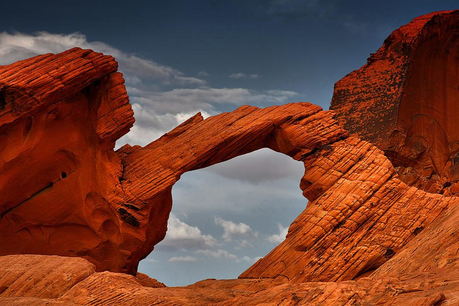 Natural Arch - Valley Of Fire - Nevada Photograph  - Natural Arch - Valley Of Fire - Nevada Fine Art Print