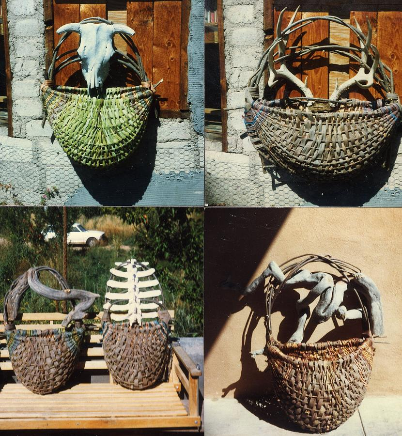 Natural Baskets Mixed Media