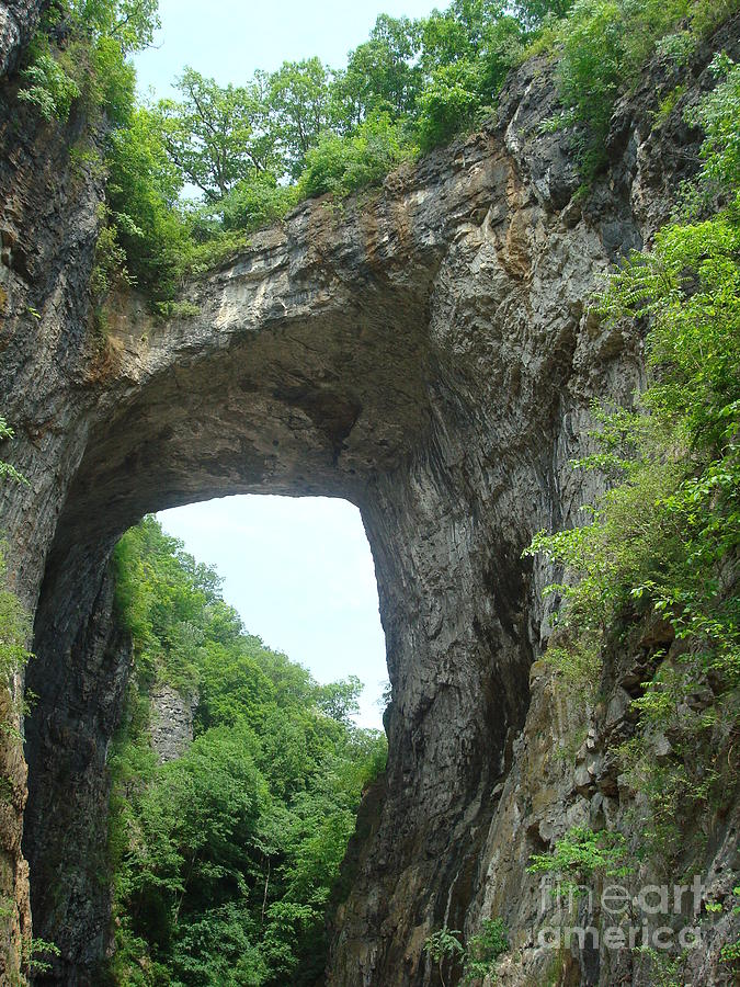 Natural Bridge Photograph  - Natural Bridge Fine Art Print