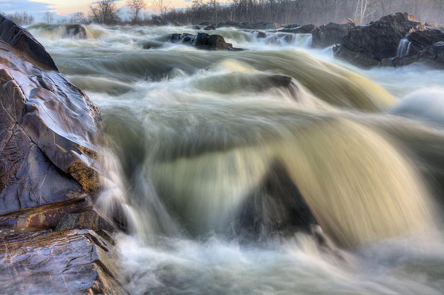 Great Falls Photograph - Natural Violence  by JC Findley