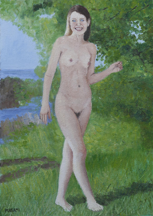 Naturist Freedom Painting