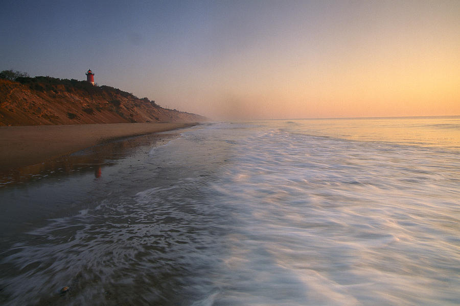 Nauset Light On The Shoreline Of Nauset Photograph