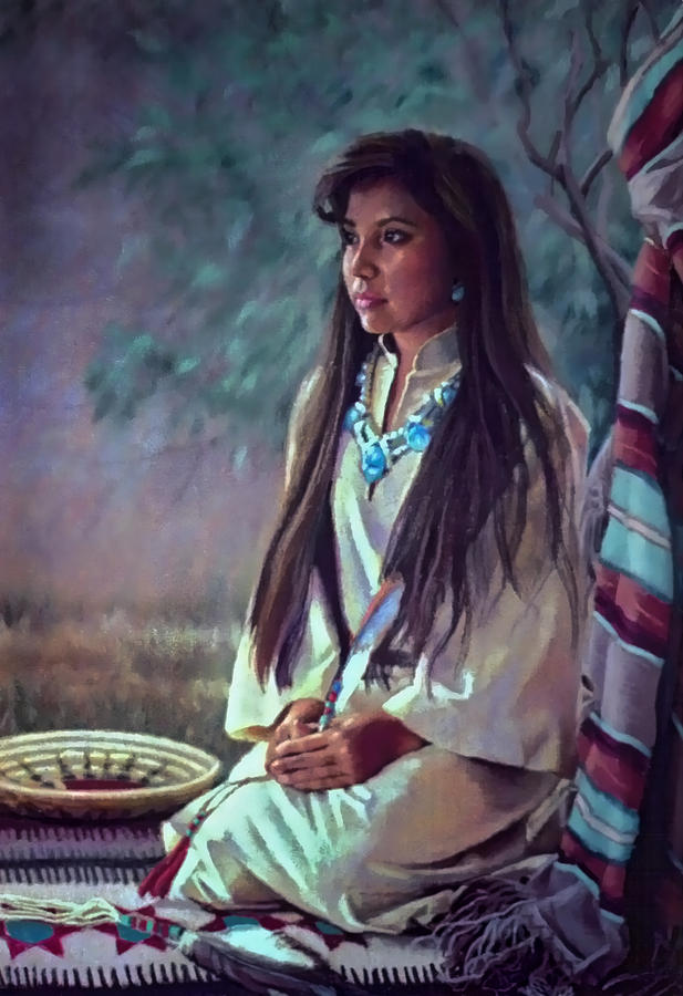 Navajo Beauty Painting