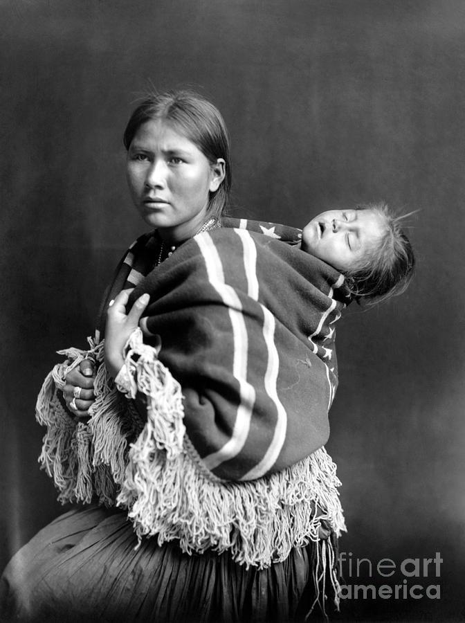 Seven Navajo riders on  Navajo