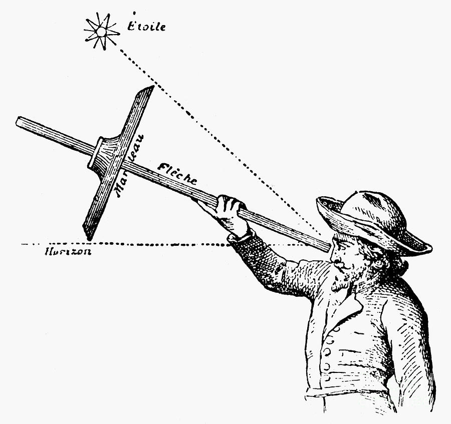 Navigation: Cross-staff is a photograph by Granger which was uploaded ...