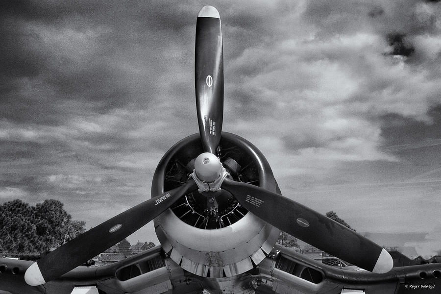 Navy Corsair Propeller Photograph