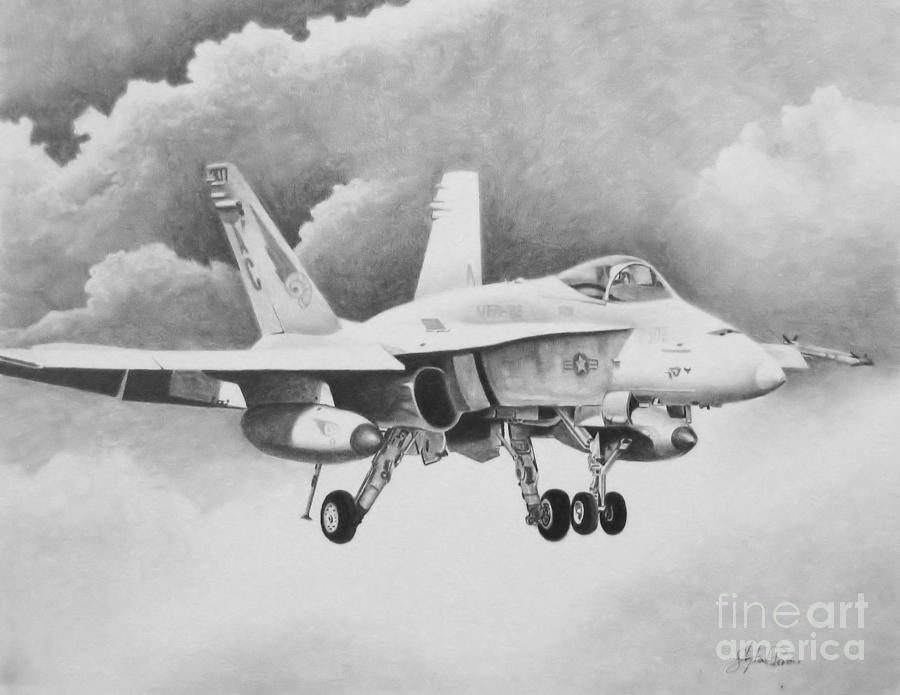 Navy Hornet Drawing