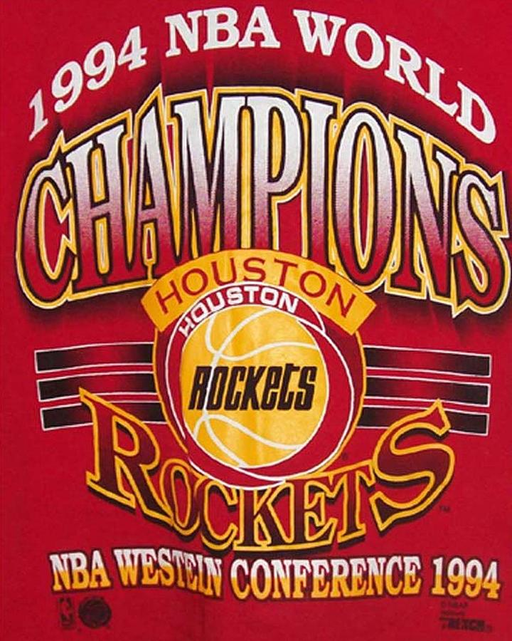 Nba 1994 World Champions Rockets Photograph