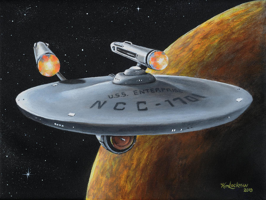 Ncc-1701 Painting