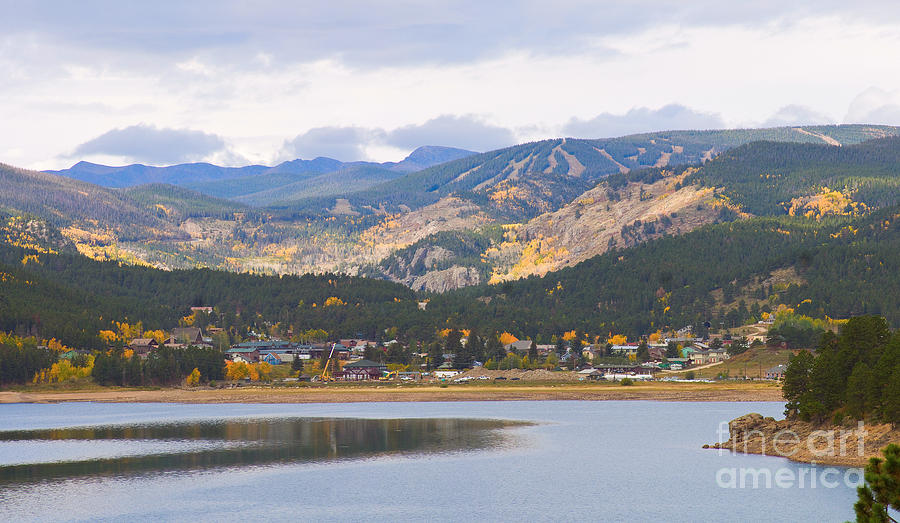 Nederland Colorado Scenic Autumn View Boulder County Photograph  - Nederland Colorado Scenic Autumn View Boulder County Fine Art Print