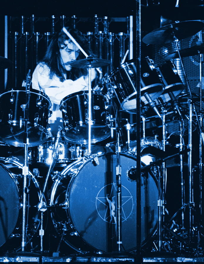 Neil Peart Drumming The Blues Away In Spokane 1978... Photograph  - Neil Peart Drumming The Blues Away In Spokane 1978... Fine Art Print