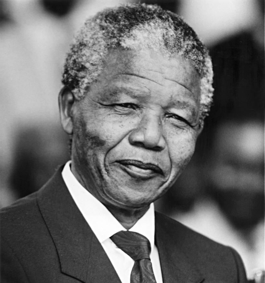 Nelson Mandela Photograph