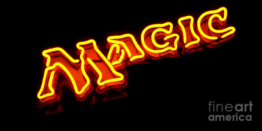 Neon Magic Photograph