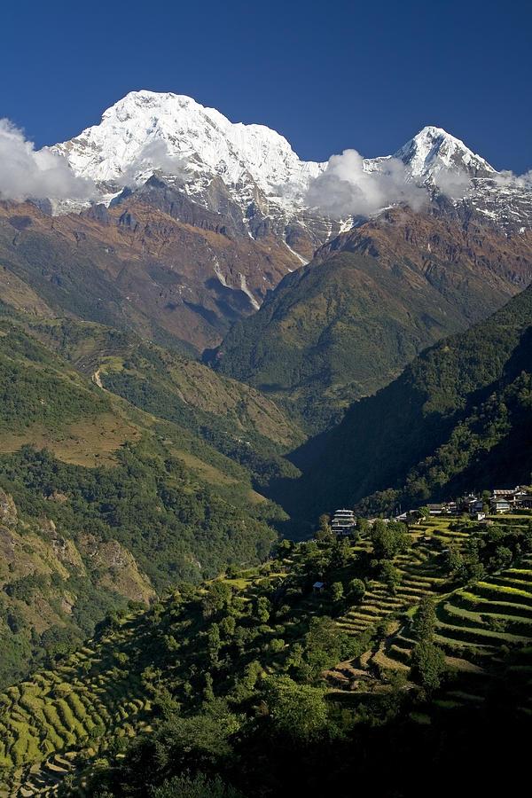 Nepal Annapurna Photograph