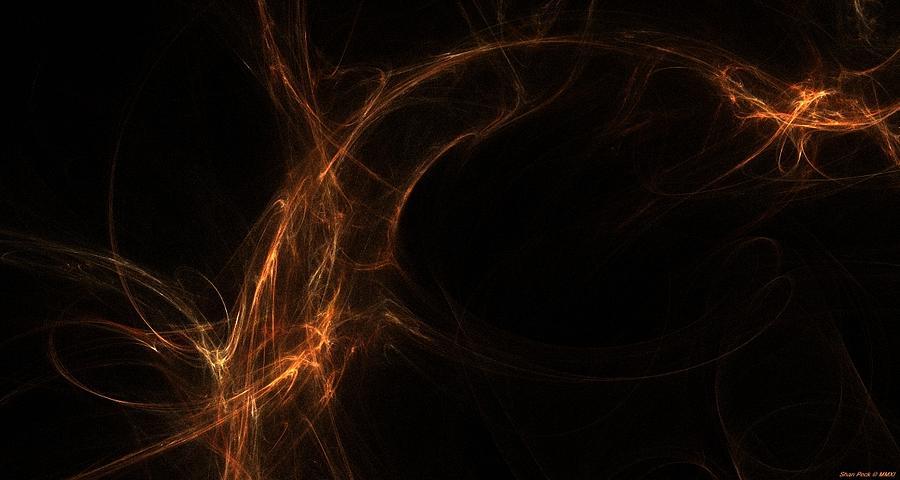 Neuron Highway Mixed Media