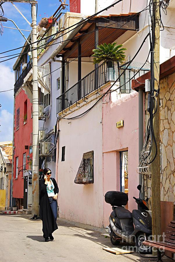 Neve Tzedek Neighborhood In Tel Aviv Photograph