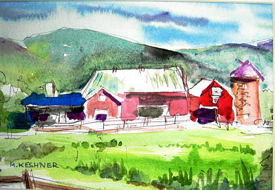 New england barn by murray keshner for New england barns for sale