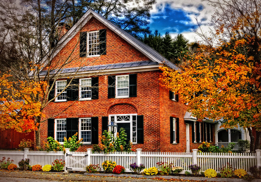 New England Brickhouse Photograph