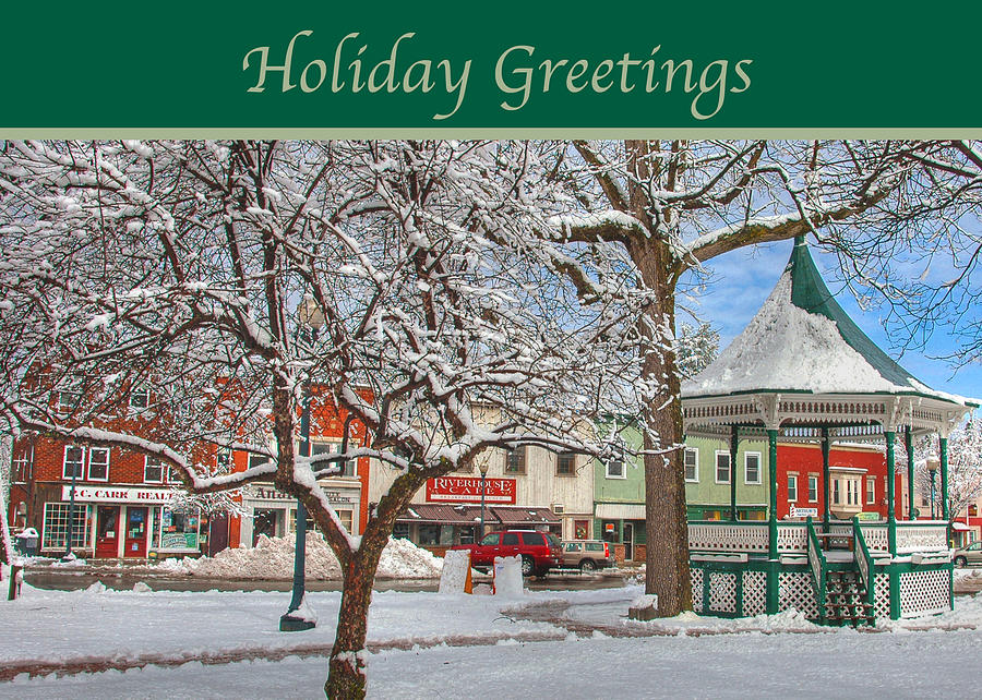New England Christmas Photograph  - New England Christmas Fine Art Print