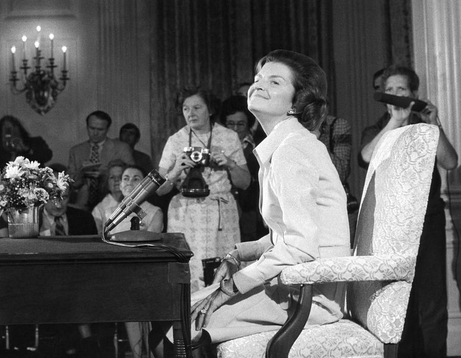 New First Lady, Betty Ford Photograph