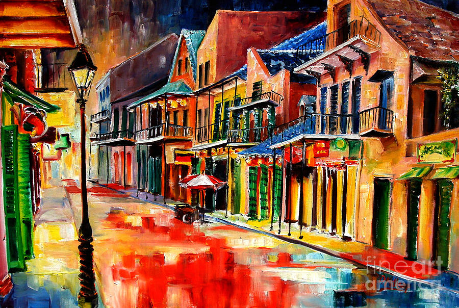 New Orleans Jive Painting  - New Orleans Jive Fine Art Print
