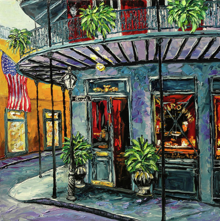 New Orleans Oil Painting Painting