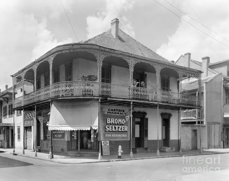 New Orleans Pharmacy Photograph