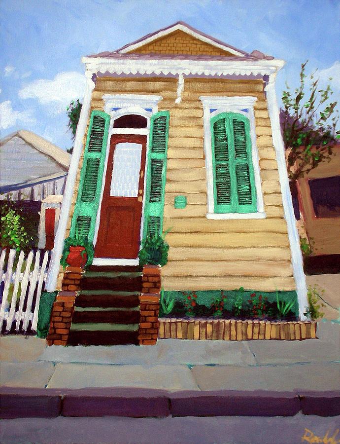 New Orleans Shotgun House By Mark Rosenbohm